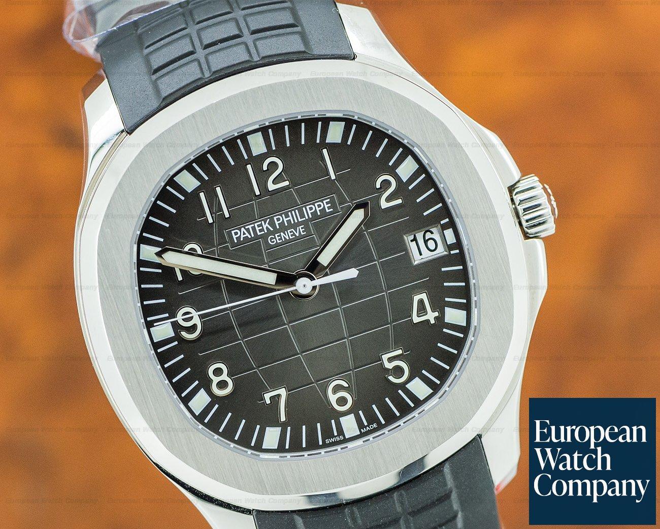 Patek Philippe 5167A-001 Aquanaut SS / Rubber 2018 UNWORN