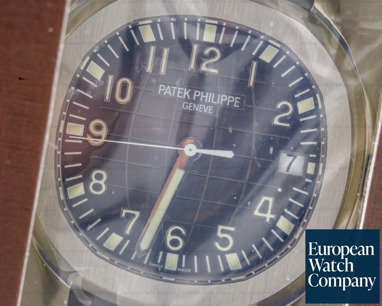 Patek Philippe 5167A-001 Aquanaut SS / Rubber DOUBLE SEALED
