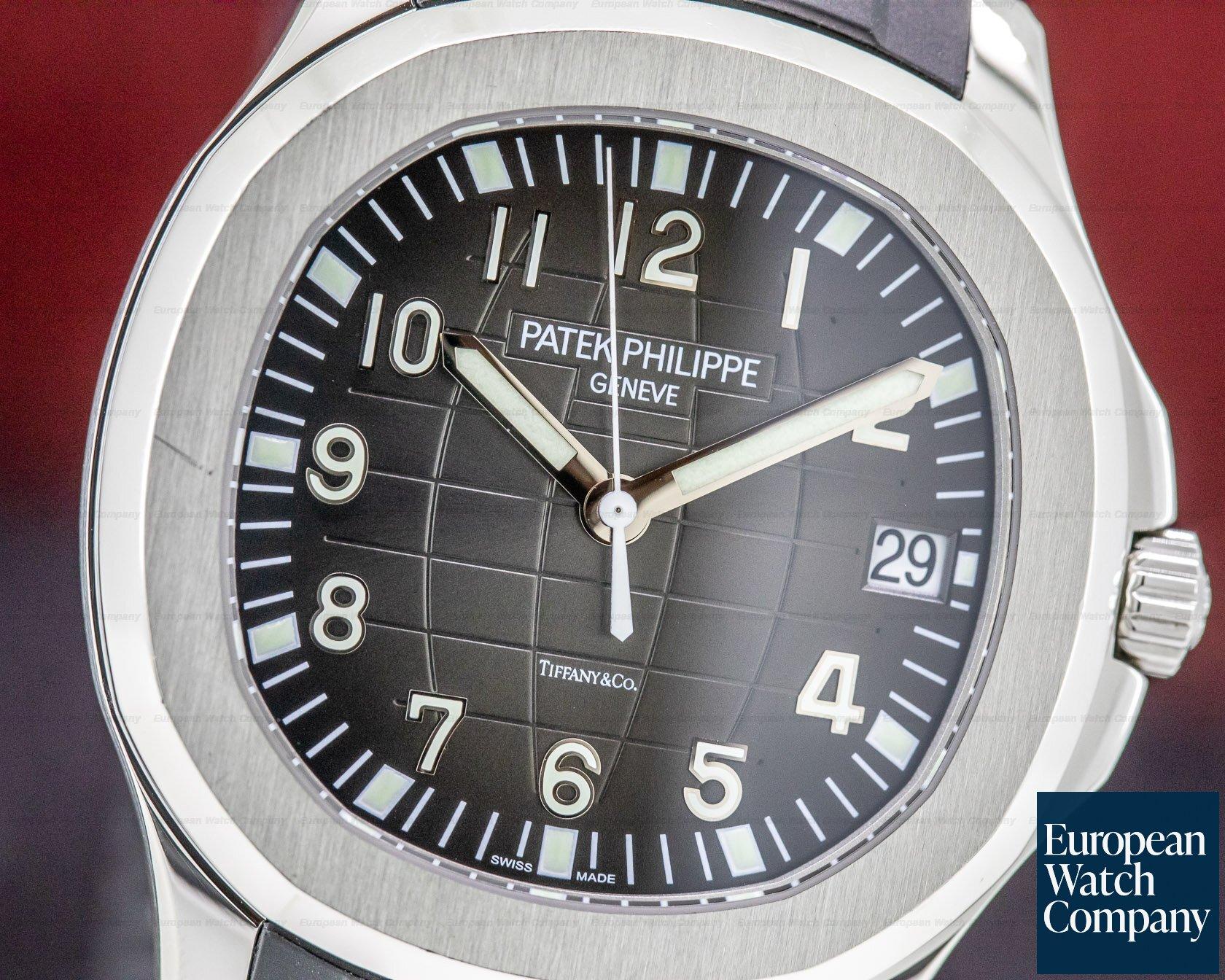 "Patek Philippe 5167A-001 Aquanaut SS ""TIFFANY & CO"" COMPLETE SET WITH BRACELET"