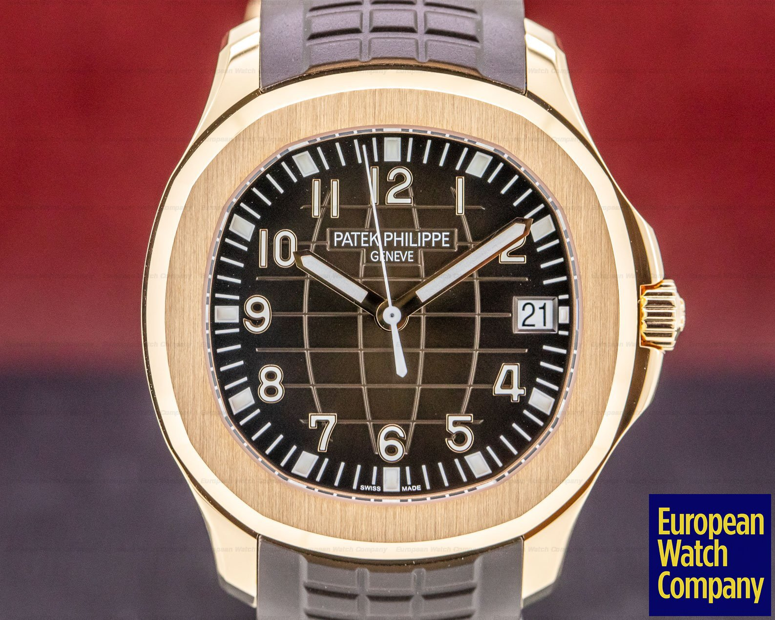 Patek Philippe 5167R-001 Aquanaut 18K Rose Gold / Brown Dial 2019