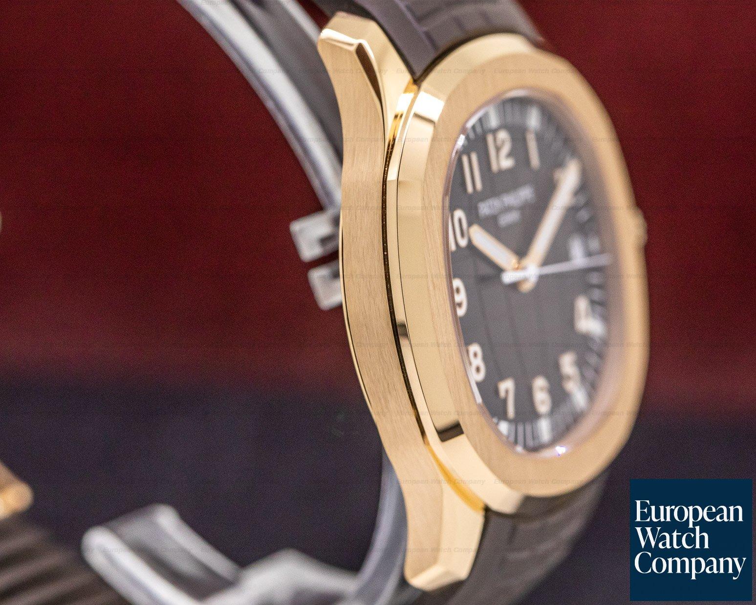 Patek Philippe 5167R-001 Aquanaut 18K Rose Gold / Brown Dial 2019