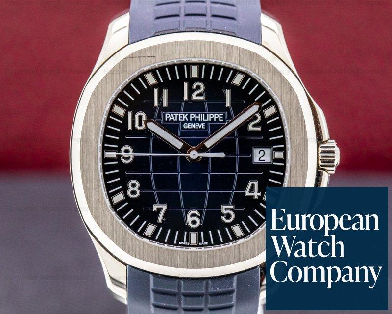 Patek Philippe 5168G-001 Aquanaut 5168G 18K White Gold / Blue Dial 2020