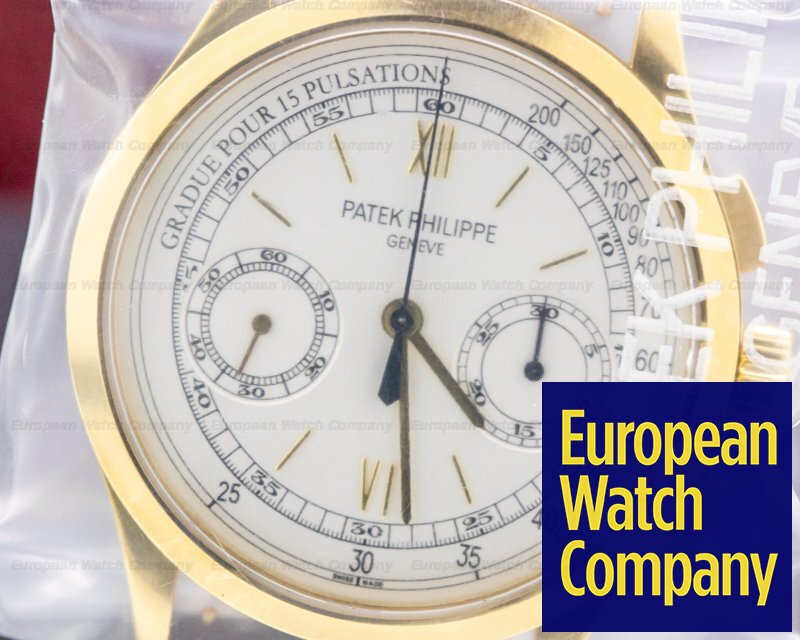 Patek Philippe 5170J-001 Chronograph 18K Yellow Gold Pulsation Dial SEALED UNWORN