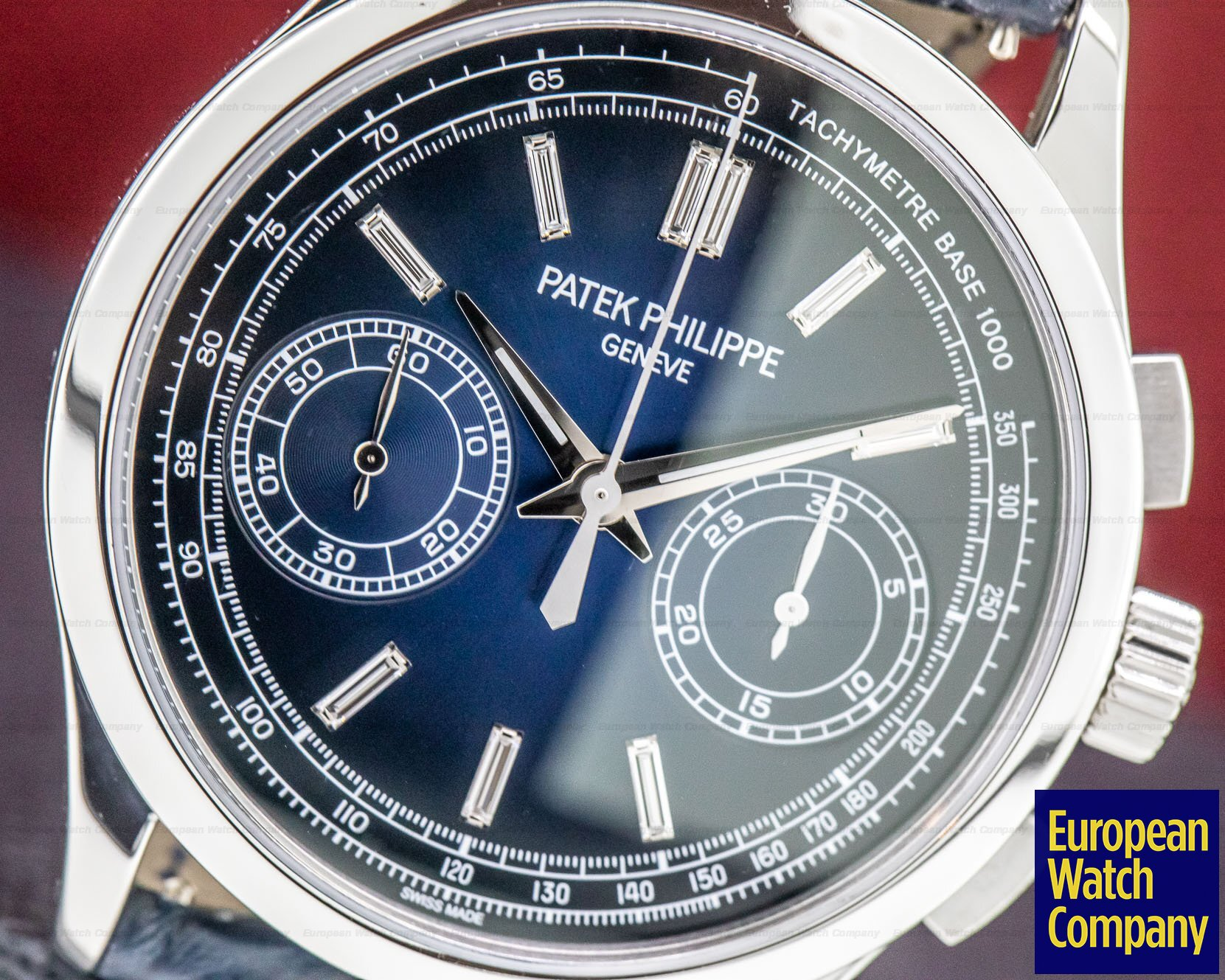 Patek Philippe 5170P-001 Chronograph Platinum Blue Diamond Dial
