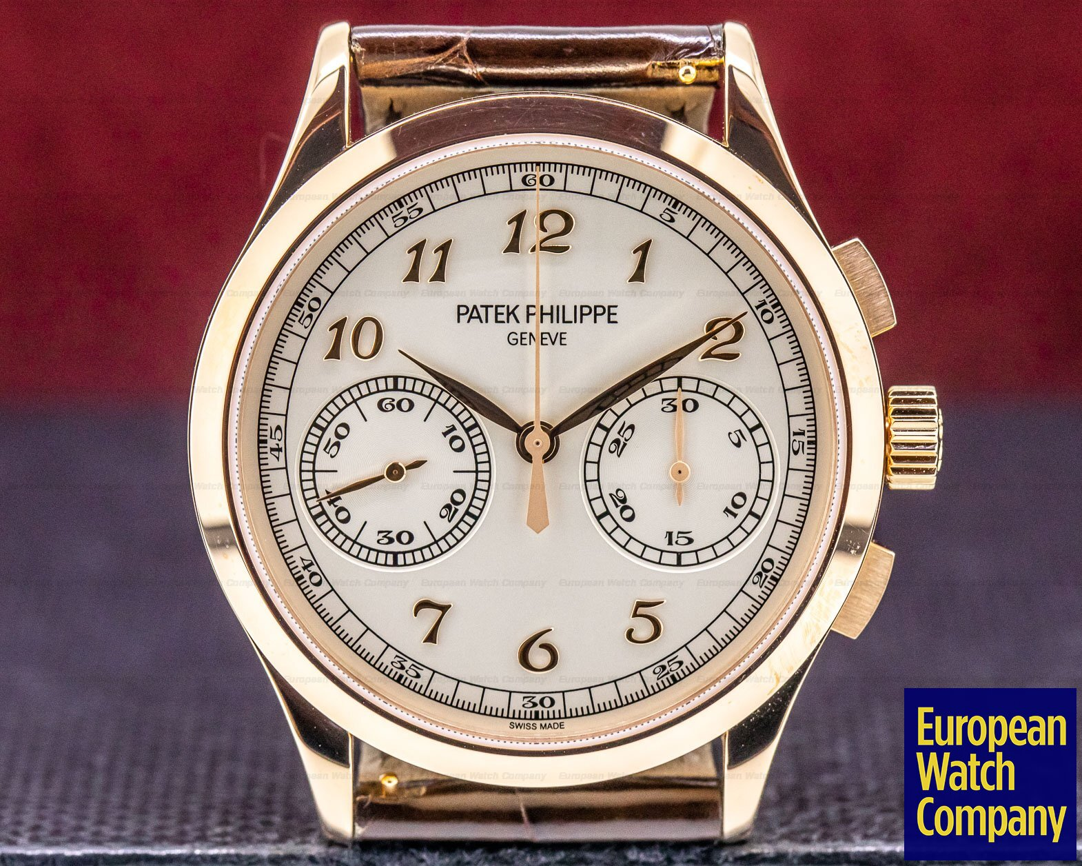 Patek Philippe 5170R-001 Chronograph 18K Rose Gold Silver Dial