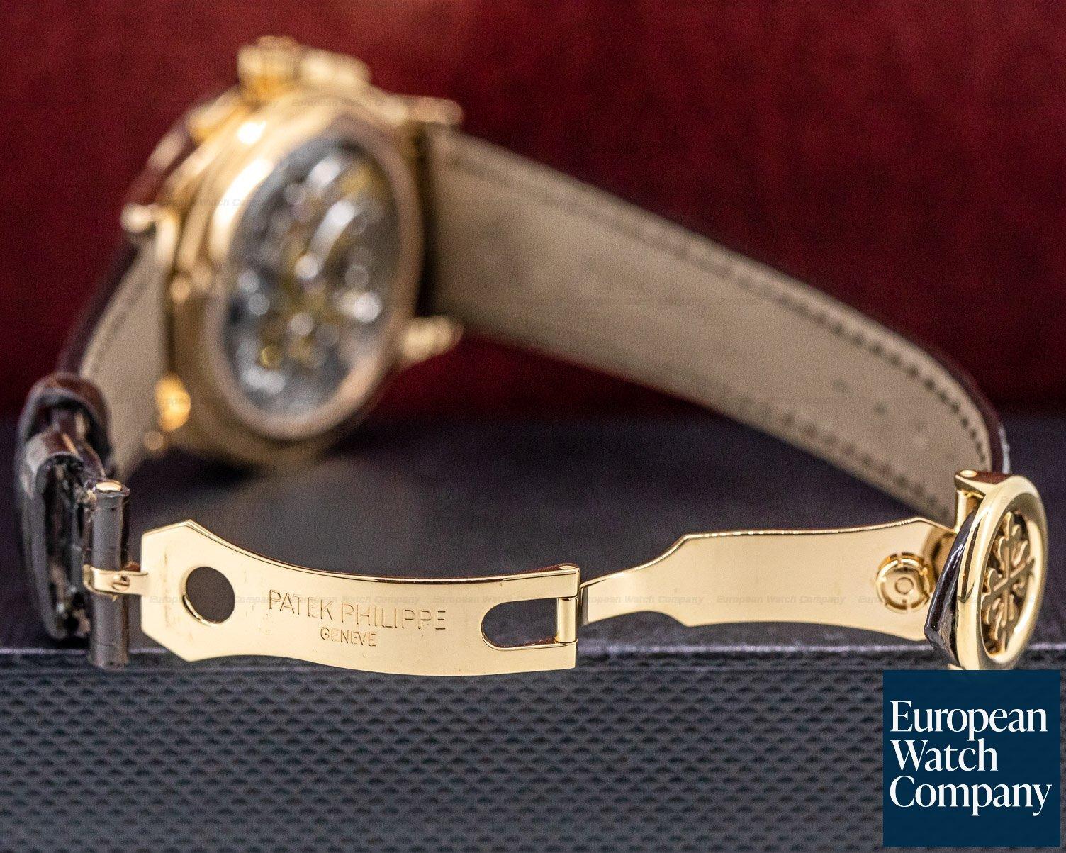 Patek Philippe 5170R-001 Chronograph 18K Rose Gold Silver Dial