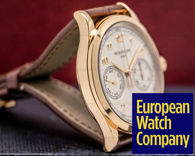 Patek Philippe 5170R-001 Chronograph 5170 18K Rose Gold Silver Dial
