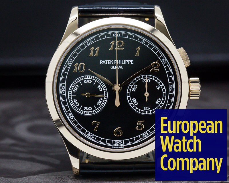 Patek Philippe 5170R-010 Chronograph 18K Rose Gold Black Dial