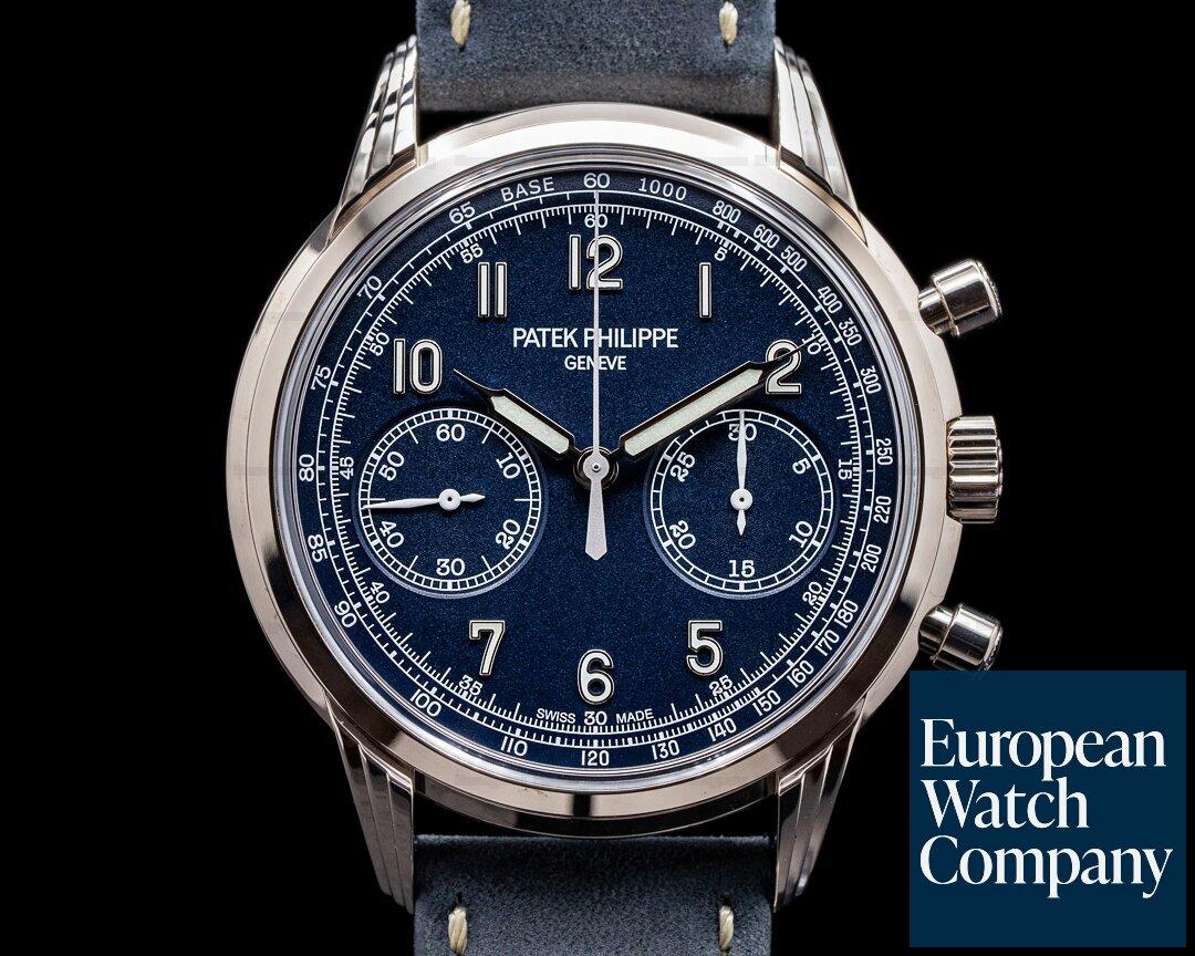 Patek Philippe 5172G Chronograph 5172G 18K White Gold Blue Dial 2020