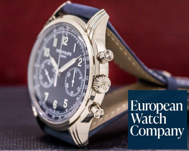 Patek Philippe 5172G Chronograph 5172G 18K White Gold Blue Dial NEW MODEL UNWORN