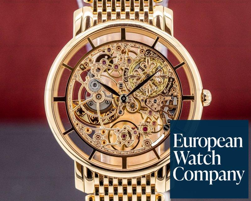 Patek Philippe 5180/1R-001 Ultra Thin Skeleton 5180 18K Rose Gold / Bracelet