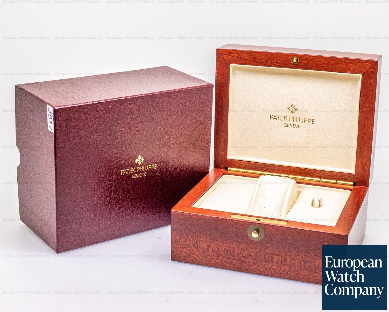 Patek Philippe 5196P-001 Calatrava Platinum Silver Dial Arabic Numerals