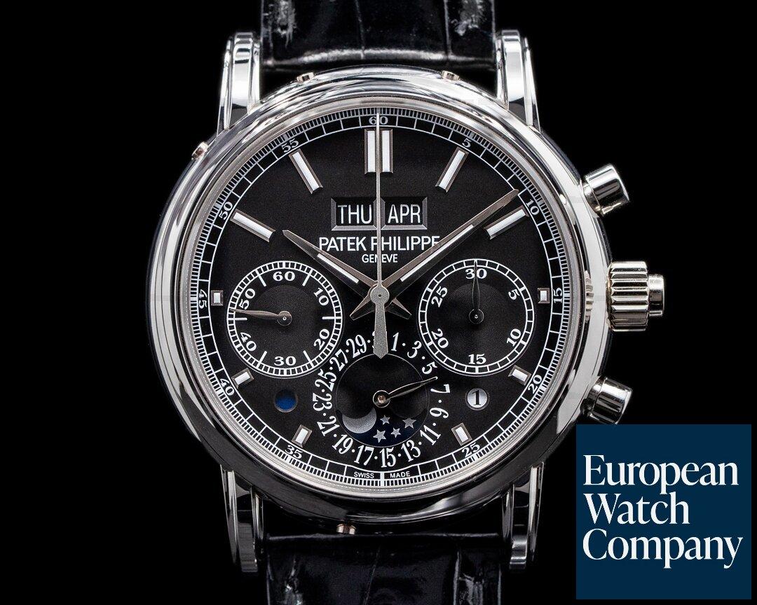 Patek Philippe 5204P-011 5204P Split Second Perpetual Calendar Chronograph PLATINUM