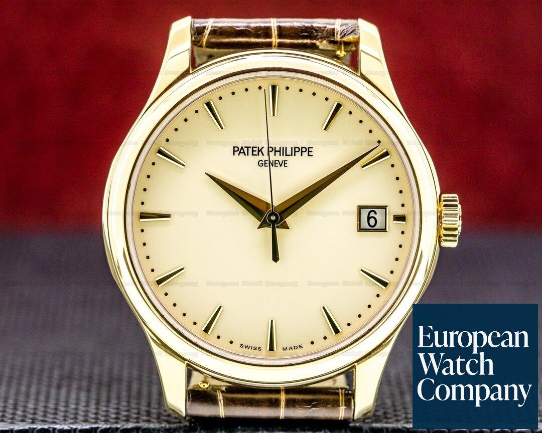 Patek Philippe Calatrava 5227J Automatic 18K Yellow Gold 2020 Ref. 5227J