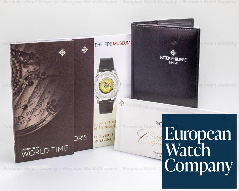 Patek Philippe 5230G-001 5230G World Time White Gold / Deployment
