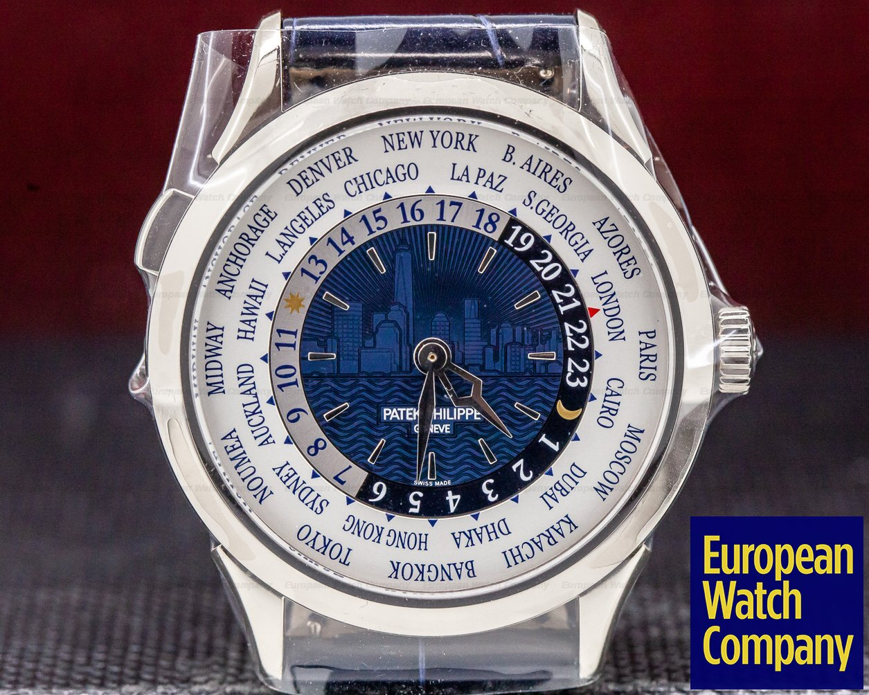 Patek Philippe 5230G New York NEW YORK World Time 2017 Limited Edition UNWORN