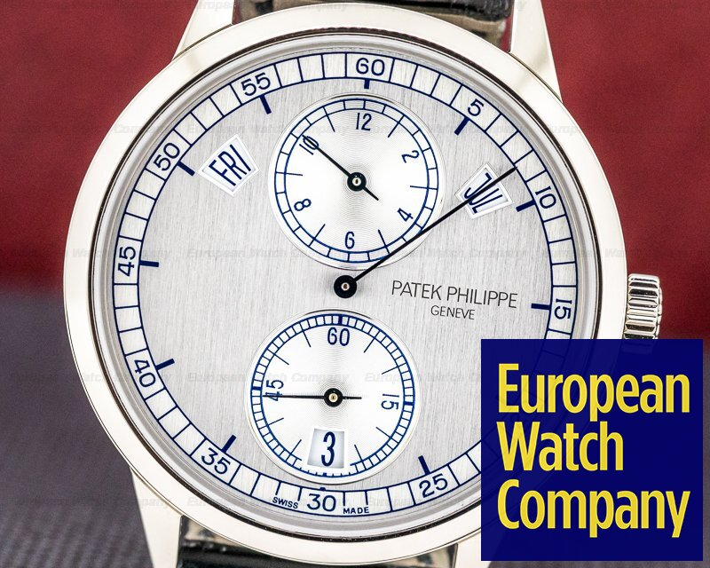 Patek Philippe 5235G-001 Annual Calendar 5235G Regulator 18K White Gold