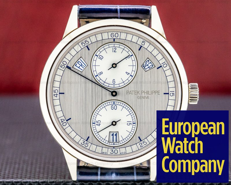Patek Philippe 5235G-001 Annual Calendar 5235G Regulator 18K White Gold UNWORN
