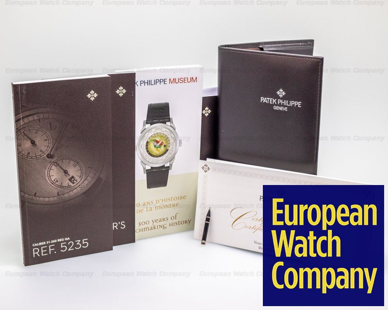 Patek Philippe 5235G Annual Calendar 5235G Regulator 18K White Gold