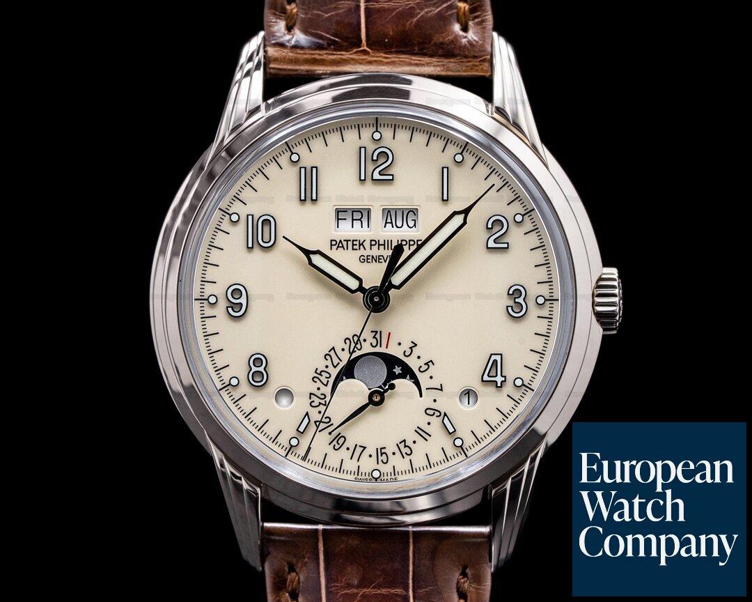 Patek Philippe 5320G-001 Perpetual Calendar 5320G Grand Complication 18K White Gold 2021
