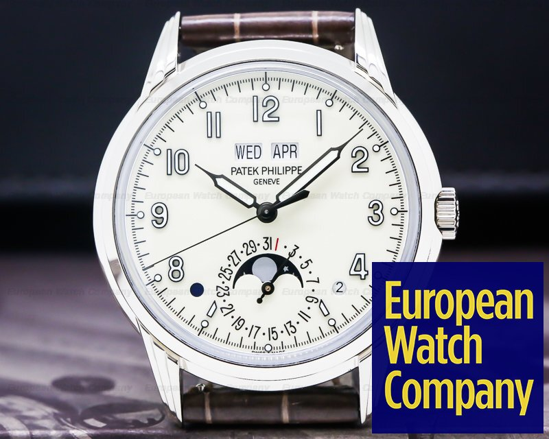 Patek Philippe 5320G-001 Perpetual Calendar Grand Complications 18K White Gold