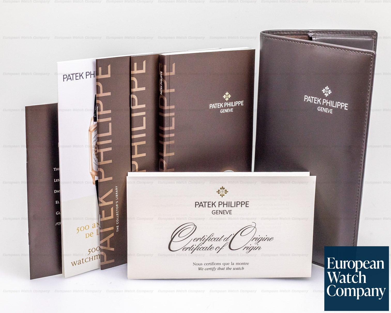 Patek Philippe 5396G-011 Annual Calendar Silver Dial 18K White Gold TIFFANY & CO