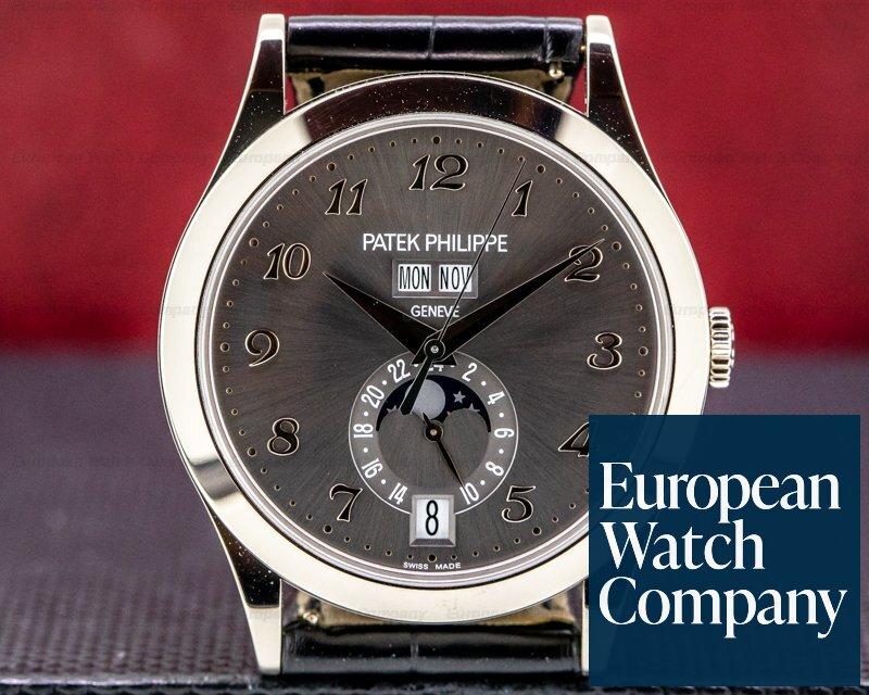Patek Philippe 5396G-014 Annual Calendar Anthracite Dial 18K White Gold 2020 UNWORN
