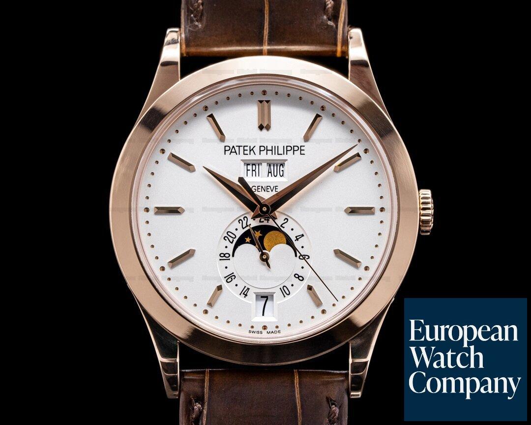 Patek Philippe 5396R-011 Annual Calendar 5396R Rose Gold / Silver Dial 2020