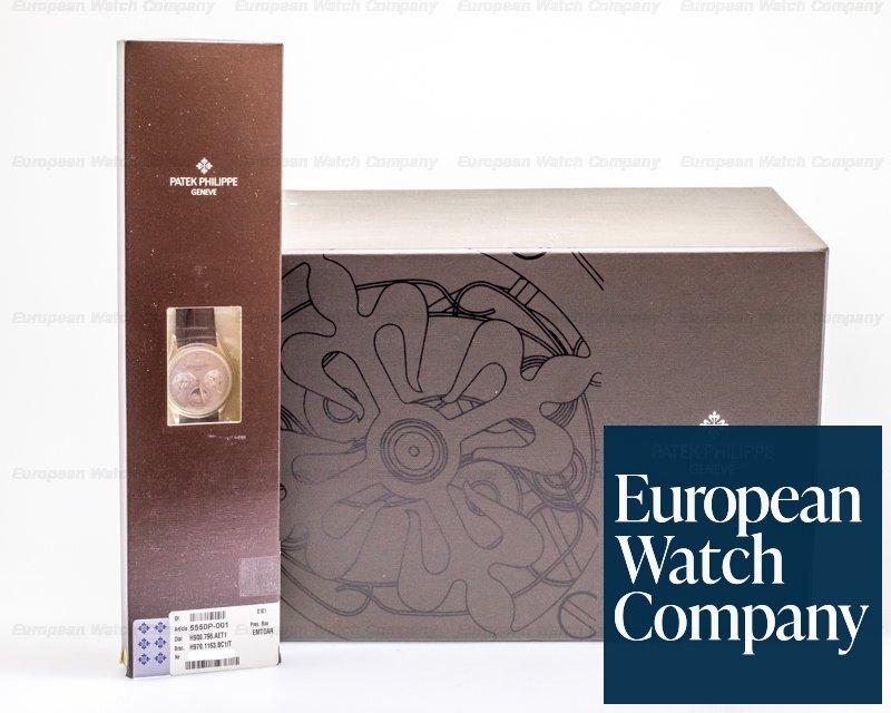 Patek Philippe 5550P-001 Advanced Research Perpetual Calendar COMPLETE & UNWORN