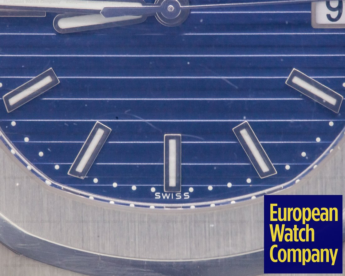 Patek Philippe 5711/1P-010 5711P Jumbo Nautilus PLATINUM 5711/1P Blue Dial SEALED