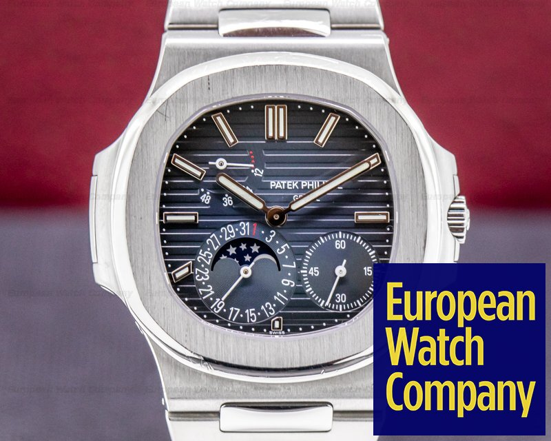 Patek Philippe 5712/1A-001 Nautilus 5712 Moonphase Power Reserve SS