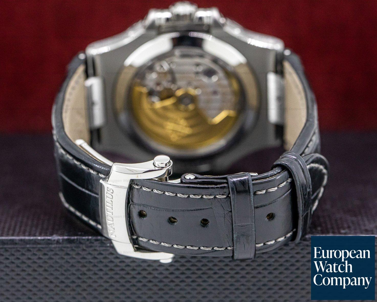 Patek Philippe 5726A-001 Nautilus Annual Calendar Moon SS Grey Dial