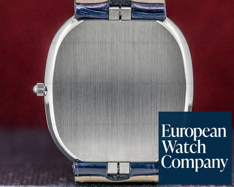 Patek Philippe 5738P-001 Golden Ellipse Platinum Blue Dial