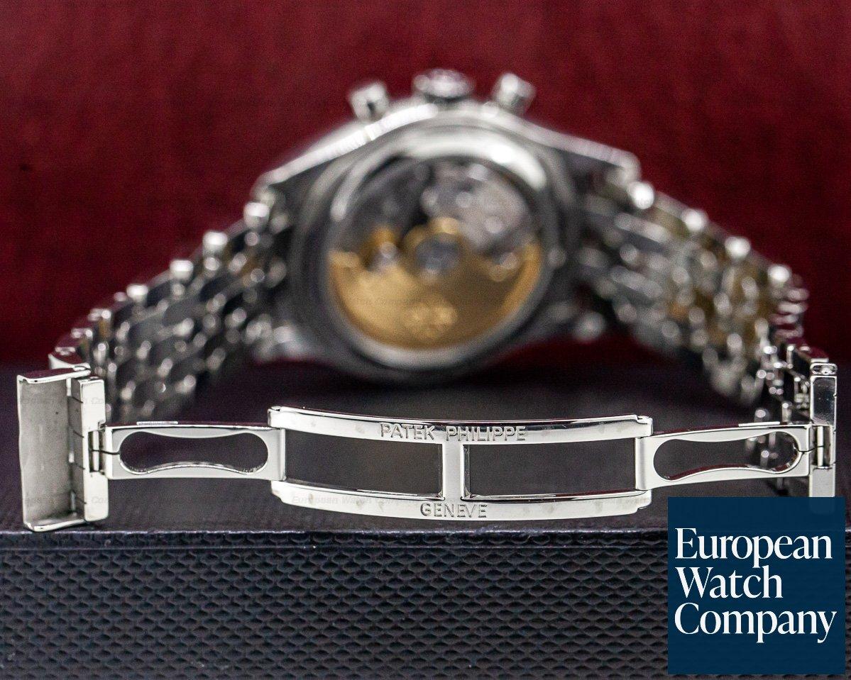 Patek Philippe 5960/1A-001 Annual Calendar Chronograph White Dial SS / SS