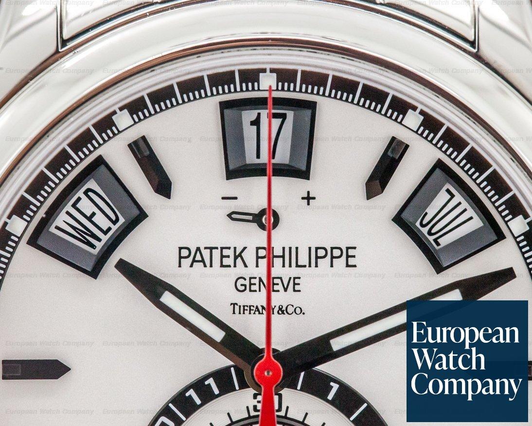 Patek Philippe 5960/1A-001 TIFFANY & CO Annual Calendar Chronograph SS / SS
