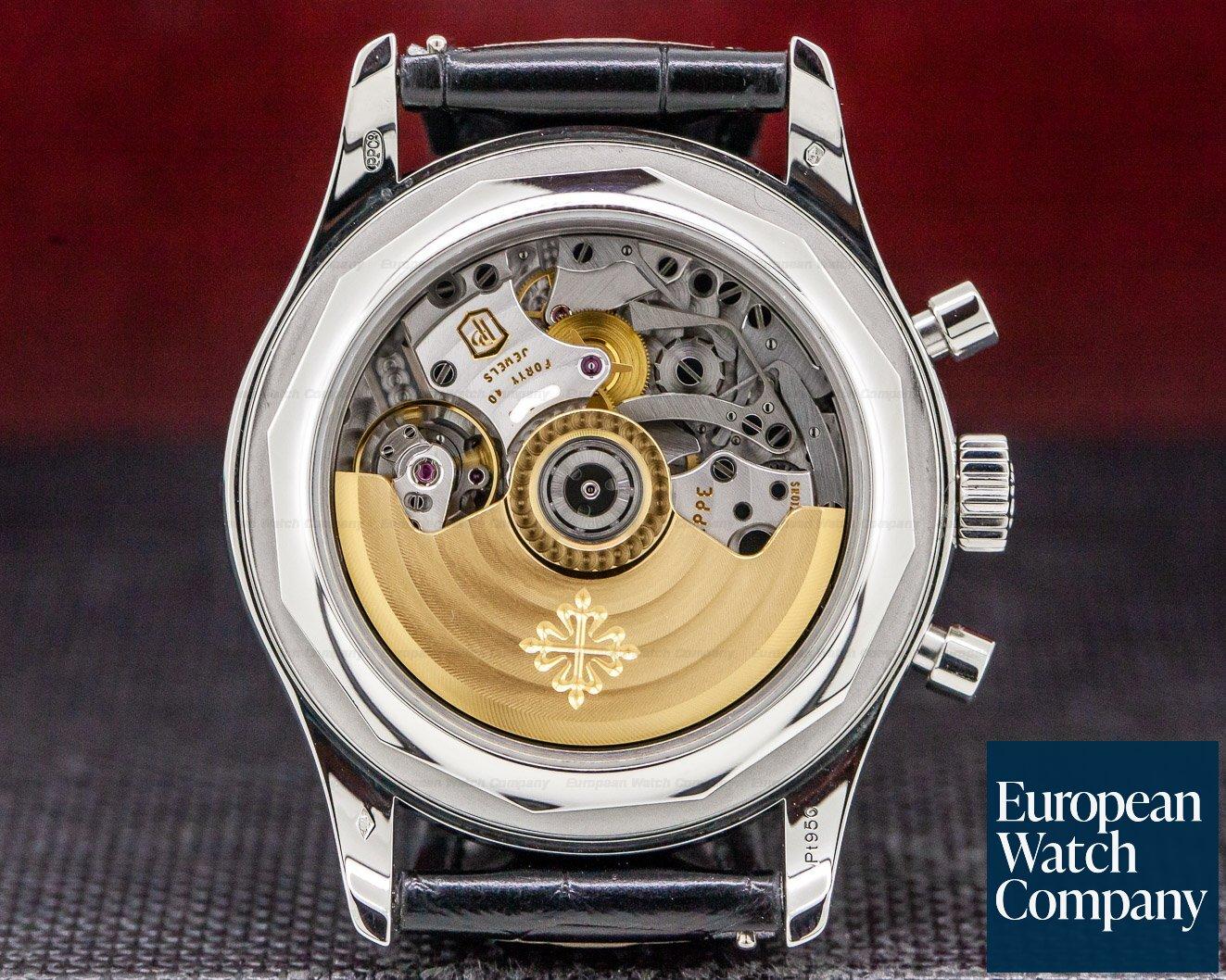 Patek Philippe 5960P-016 Annual Calendar Chronograph BLACK DIAL