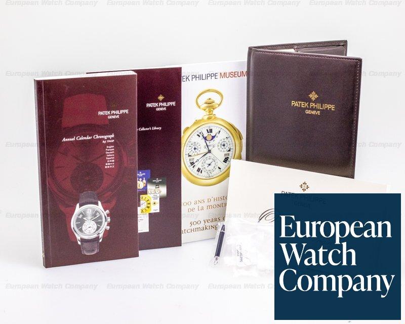 Patek Philippe 5960P Annual Calendar Chronograph 5960P Platinum Grey Dial