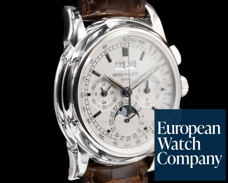 Patek Philippe 5970G-001 Perpetual Calendar Chronograph White Gold FULL SET