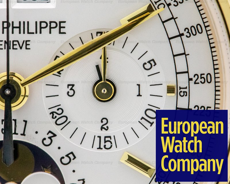 Patek Philippe 5970J-001 Perpetual Calendar 5970J Chronograph 18K Yellow Gold RARE FULL SET