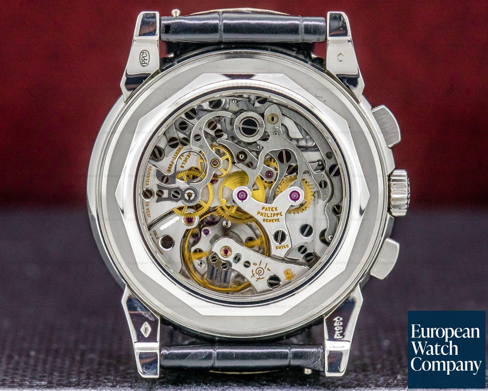 Patek Philippe 5970P-001 Perpetual Calendar Chronograph Platinum FULL SET