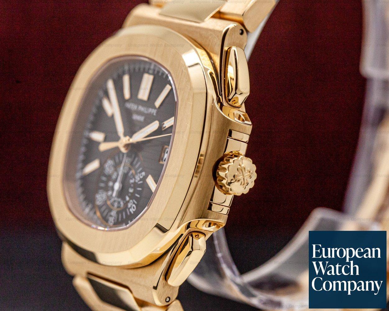 Patek Philippe 5980/1R-001 Nautilus Chronograph 18K Rose Gold / Bracelet