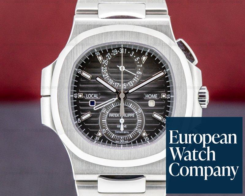 Patek Philippe 5990/1A-001 TIFFANY  Nautilus 5990 Travel Time TIFFANY & CO Chronograph GMT UNWORN