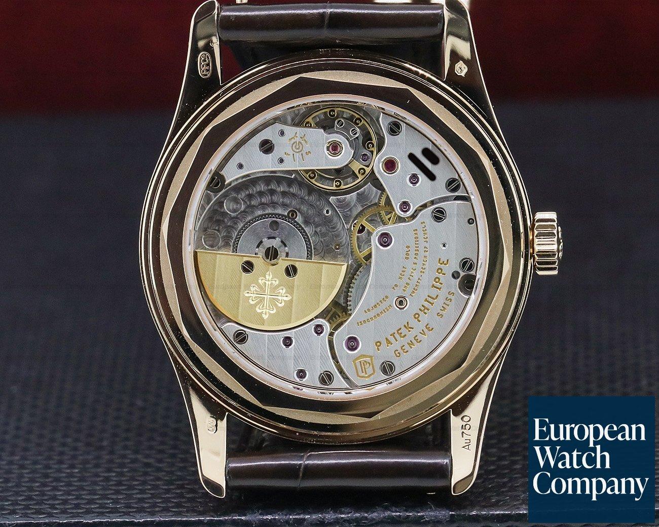 Patek Philippe 6000R-001 6000R Brown Dial Rose Gold / Deployant
