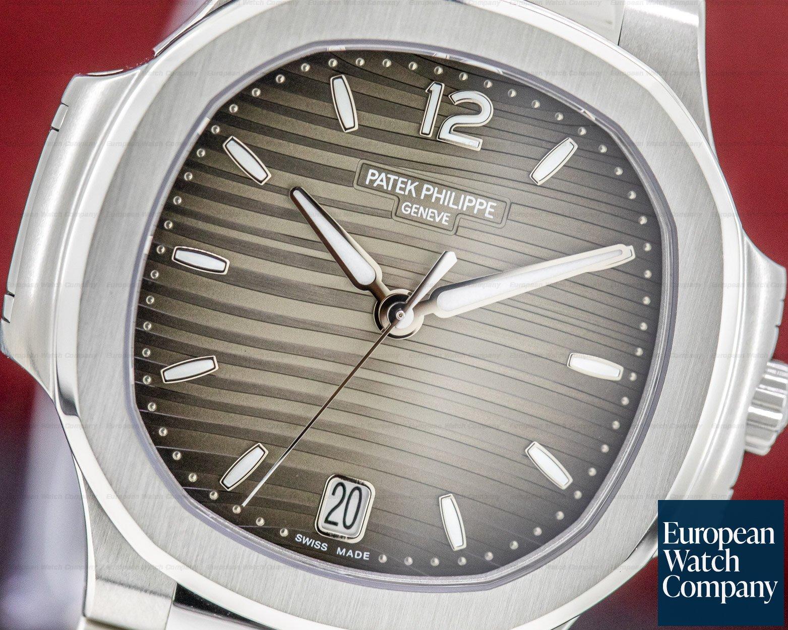 Patek Philippe 7118/1A-011 Nautilus Ladies Automatic SS Grey Dial