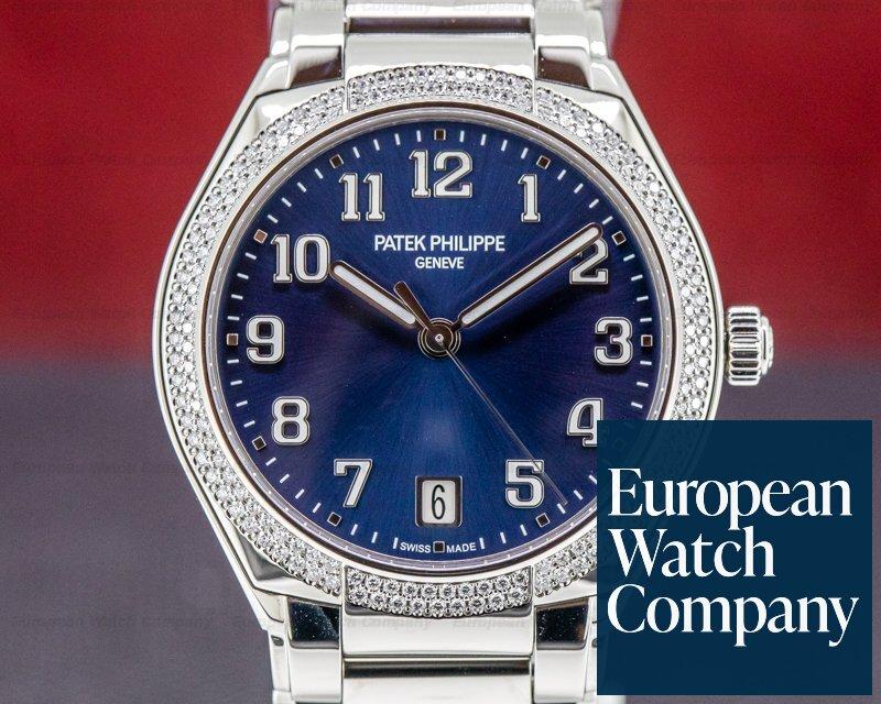 Patek Philippe 7300/1200A-001 Twenty 4 Automatic Blue Dial UNWORN