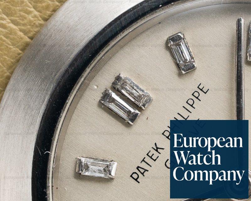 Patek Philippe Custom Platinum Case Diamond Markers Manual Wind 31MM