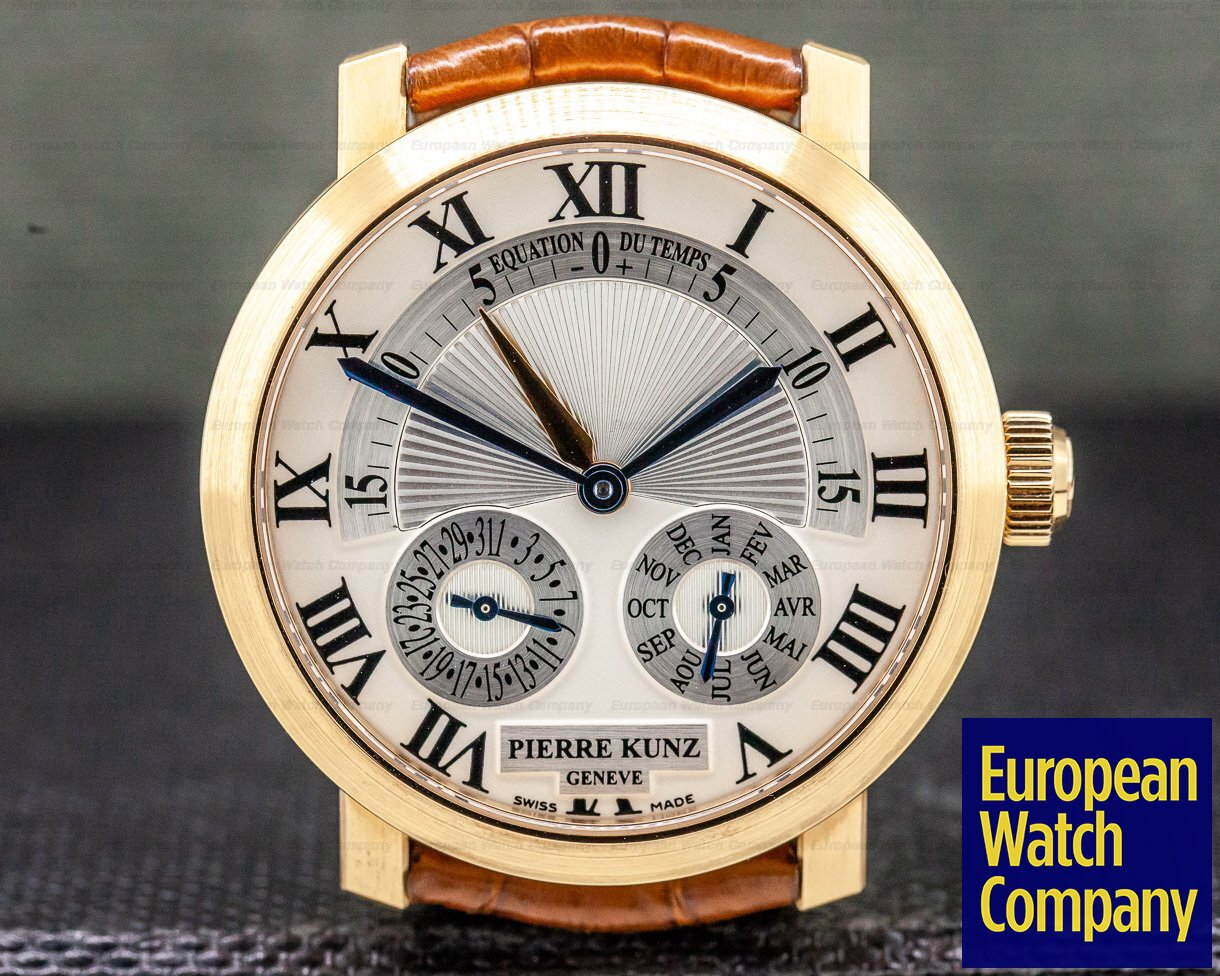 Pierre Kunz PKA 010 ERDM Spirit of Challenge Rose Gold Equation Du Temps