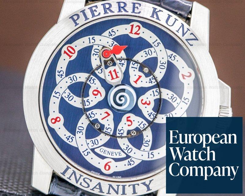 "Pierre Kunz PKG019INSANITYBLWT Insanity ""Spirit of Challenge"" Stainless Steel LIMITED"
