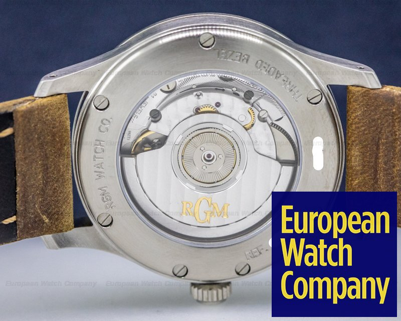 "RGM 151-USA RGM ""Corps of Engineers"" SS Luminous Dial 38.5MM"