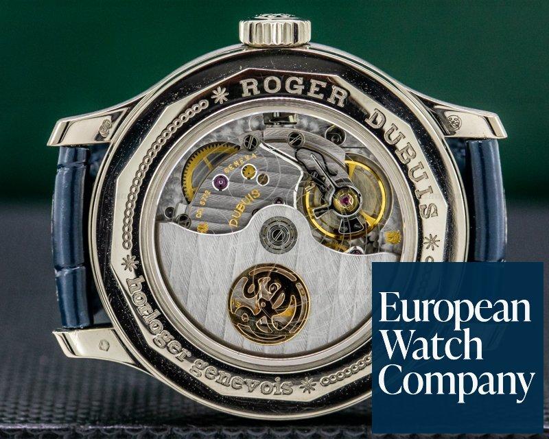 Roger Dubuis H37 5772 0 Hommage 18K White Gold Perpetual Calendar Bi Retrograde LIMITED